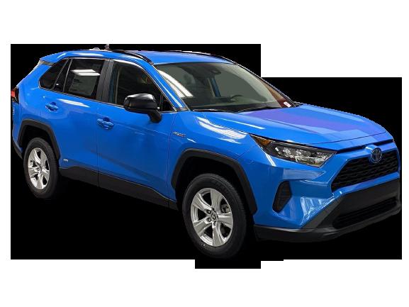 Toyota RAV4 2021 PNG Free