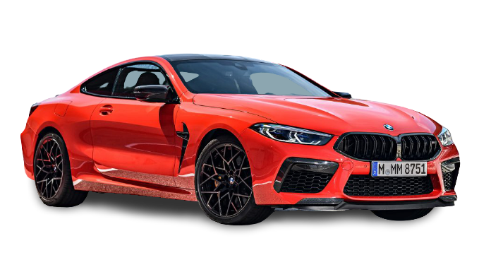 BMW M8 Coupe 2021 PNG Free