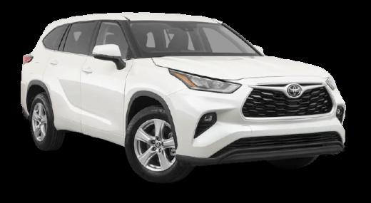 Toyota Highlander 2020 PNG Free