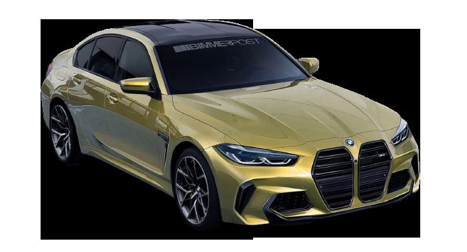 BMW M4 2021 PNG Free