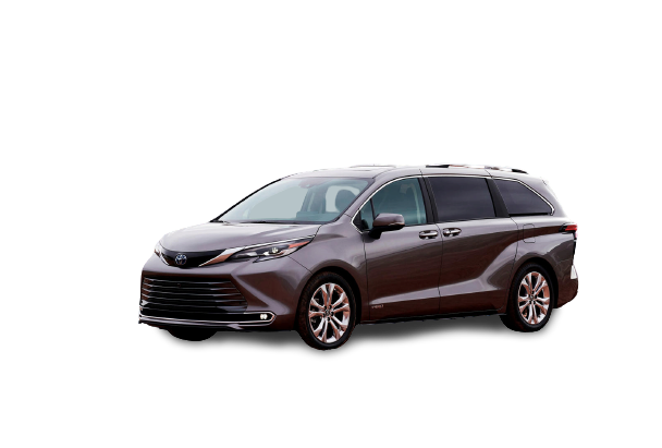 2021 Toyota Sienna PNG Free