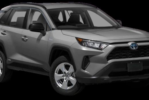 Toyota RAV4 2020 PNG Free