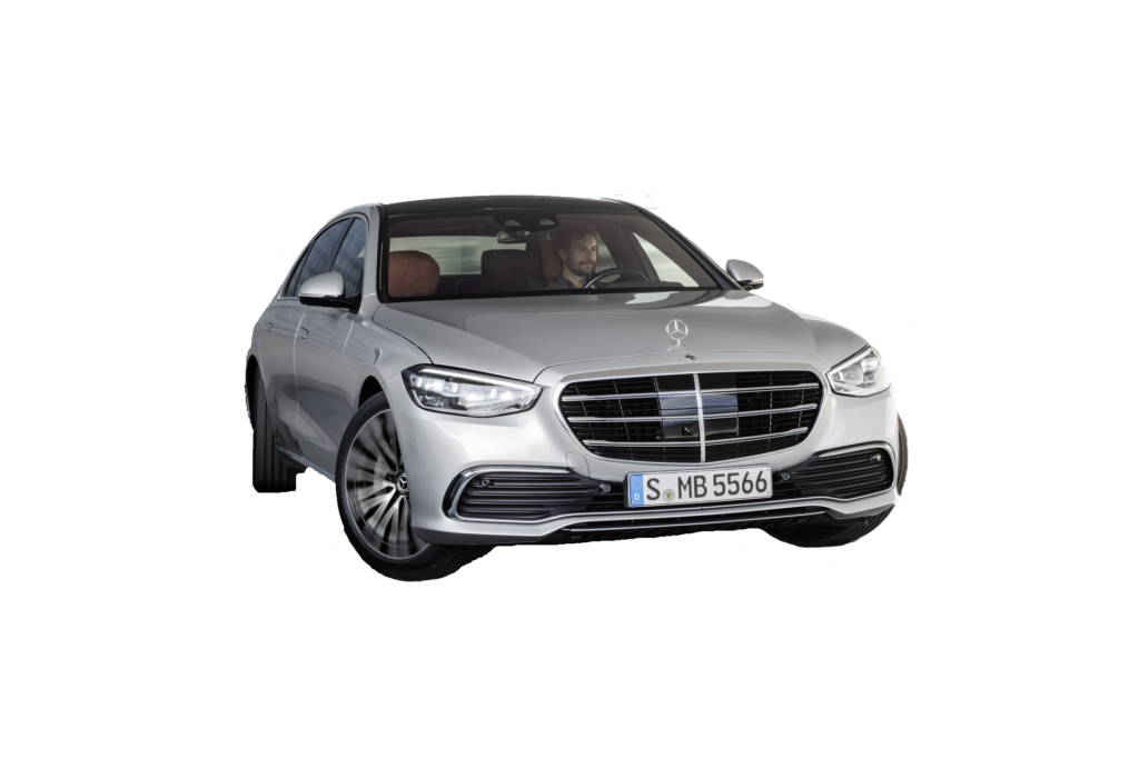 Mercedes S Class 2021 PNG Free