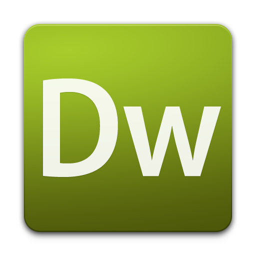 Adobe Dreamweaver icon PNG Free