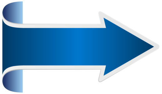 Arrow Blue icon PNG Free
