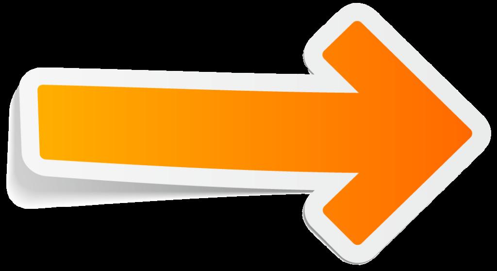 Arrow Orange icon PNG Free