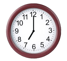 Clock icon PNG Free