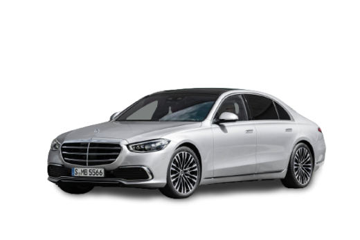 2021 Mercedes Benz S Class PNG Free