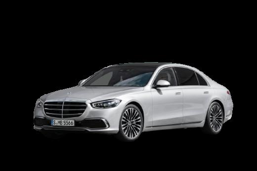 2021 Mercedes Benz S Class PNG Free