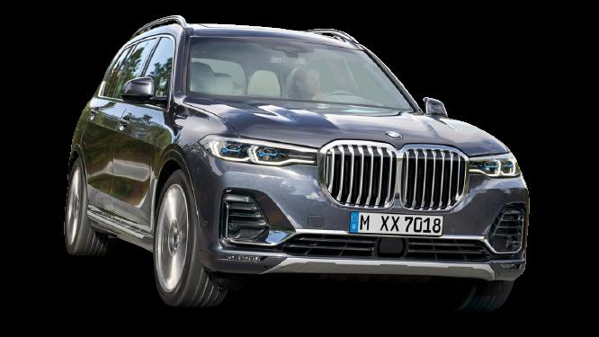 BMW X7 2022 PNG