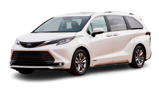TOYOTA SIENNA 2022 PNG