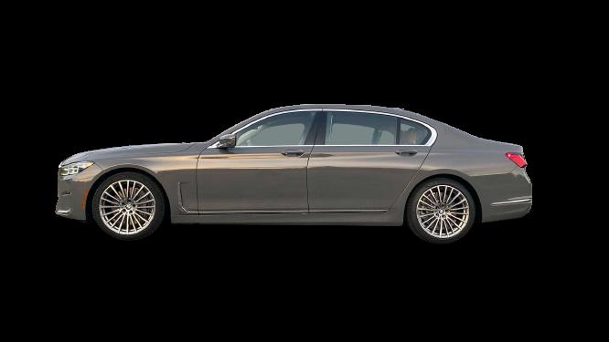 BMW 750i 2020 PNG