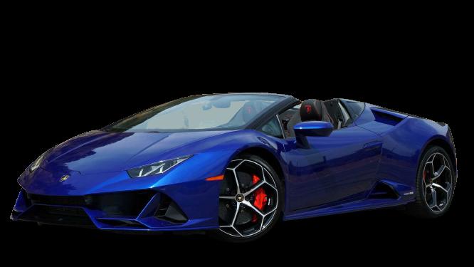 Lamborghini Huracan Evo Spyder 2020 PNG