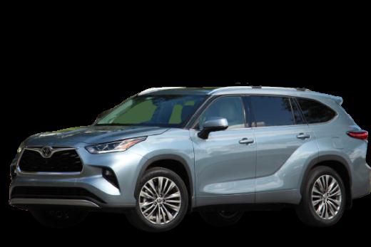 Toyota Highlander Platinum 2020 PNG