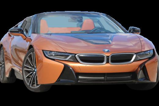 BMW i8 Roadster 2019 PNG