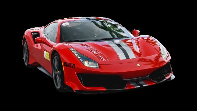 Ferrari 488 Pista 2019 PNG