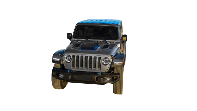 Jeep Wrangler 4xe 2021 PNG