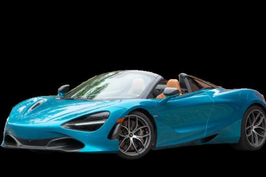 McLaren 720S Spider 2019 PNG