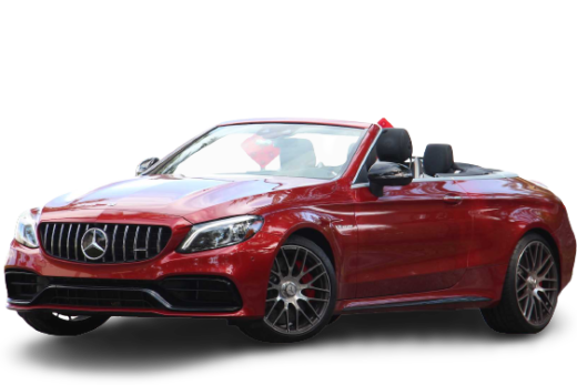 Mercedes AMG C63 S Cabriolet 2020 PNG