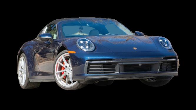 Porsche 911 Targa 4S 2021 PNG