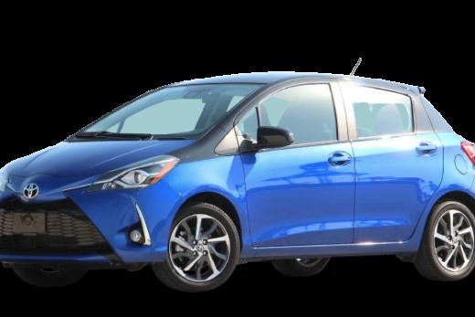 Toyota Yaris Liftback SE 2018 PNG