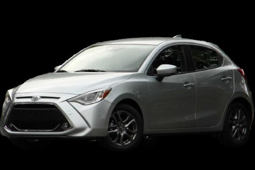 Toyota Yaris XLE Hatchback 2020 PNG