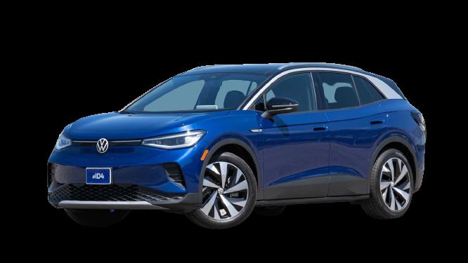 Volkswagen ID 4 2021 PNG